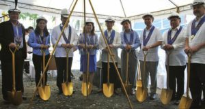 Marina Building Ground Breaking
