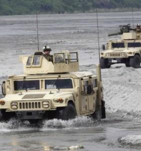 Philippine Army HMMVs