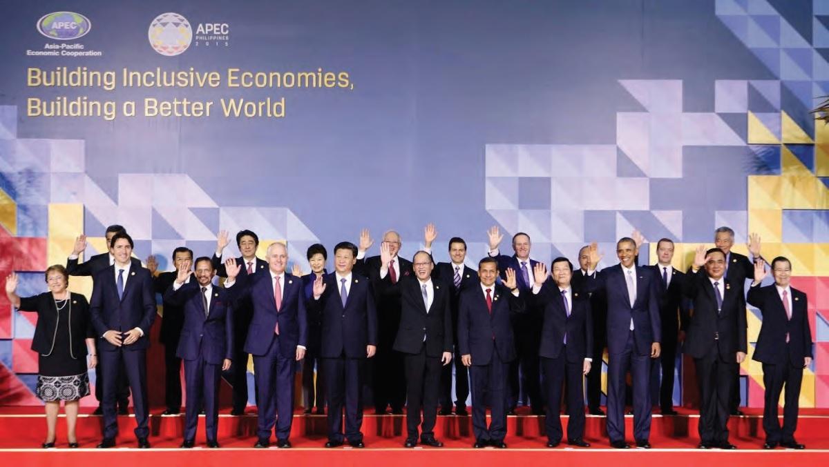 Family Photo of the APEC Economic Leaders Photo Credit: APEC 2015 Philippines