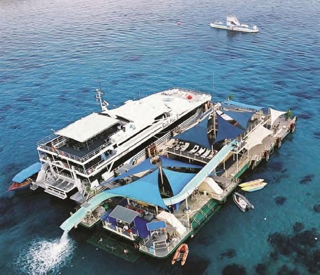 IMC catamaran design off Nusa Lembongan Photo Credit: IMC