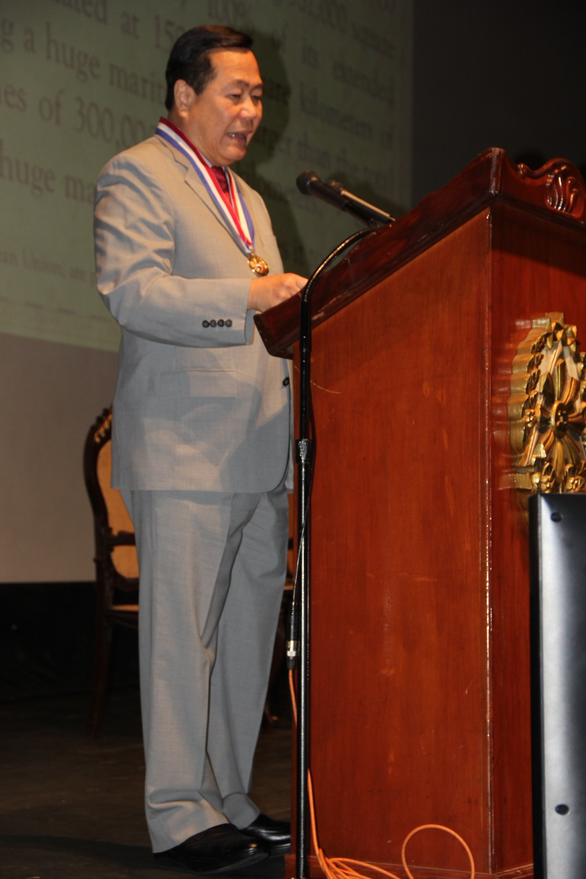 Lecture delivered by Associate Justice Antonio T. Carpio before the Philippine Military Academy Alumni Association, AFP Theater, Camp General Emilio Aguinaldo, Quezon City, 23 January 2016.