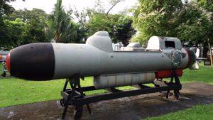 Philippine Navy's 2-man midget submarine