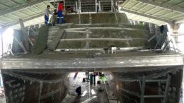 Aluminum Catamaran Survey Vessel