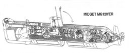 Shallow Water Attack Submarine (SWATS) Midget MG120/ER Submarine.  Image credit: Cosmos Spa by Italy.