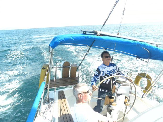 Past MYC Commo. Juan Marcos C. Arellano Offshore Sailing